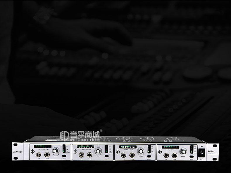 爱克创(Alctron) H4N 四路专业会议音频耳机放大分配器