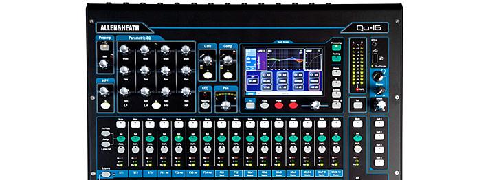 Allen&Heath Qu-16 专业音频数字调音台
