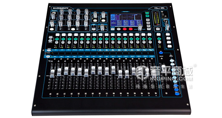 Allen&Heath Qu-16 专业音频数字调音台 技术参数 规格