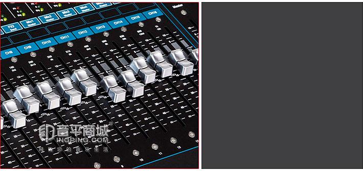 Allen&Heath Qu-16 专业音频数字调音台 推子自动化