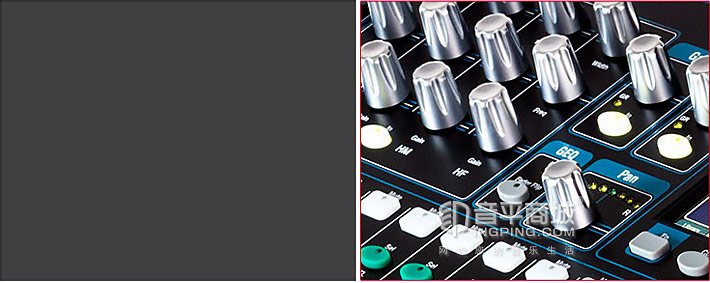 Allen&Heath Qu-16 专业音频数字调音台SuperStrip 视图
