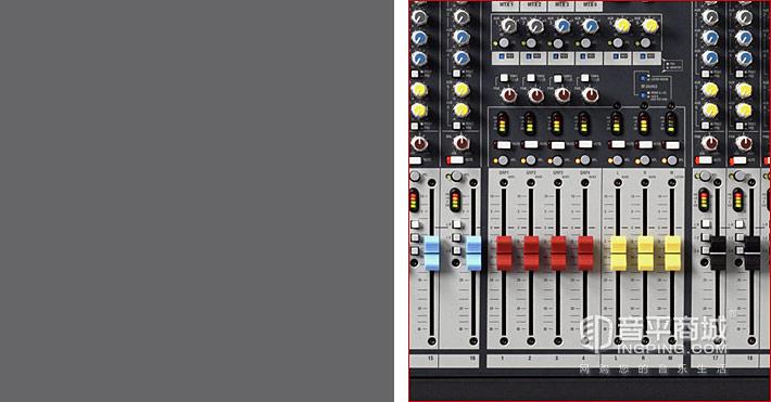 GL2400-424 24路大型调音台 4编组演出调音台