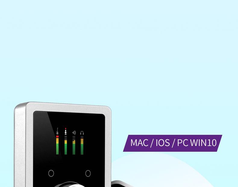 Apogee DUET-IOS-MAC PC专业录音编曲外置USB声卡 音频接口