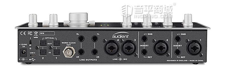 Audient iD44 专业USB外置音频接口声卡