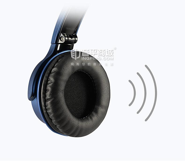 铁三角(Audio-technica) ATH-AR3BT 三玖耳机无线头戴带麦蓝牙耳机