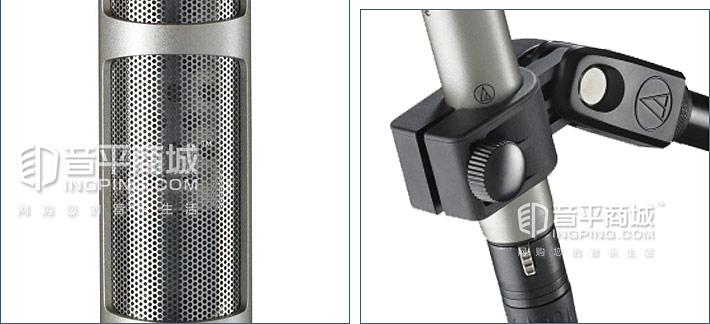 铁三角AT4081 铝带录音话筒
