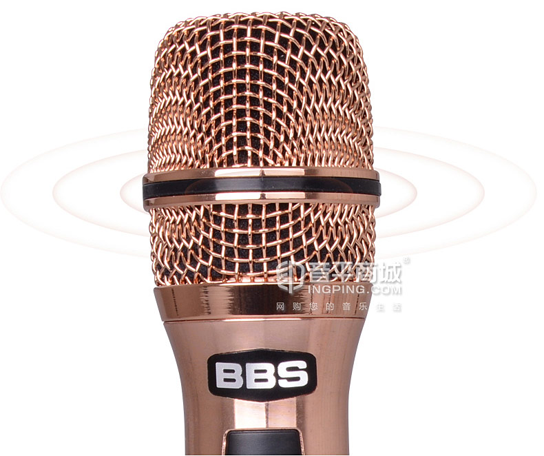 BBS F-30 KTV/演出手持式无线动圈麦克风 金属网头