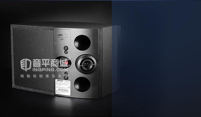 博士(BOSE) 墨西哥进口 301 V 五代HIFI音箱 黑色(一对)