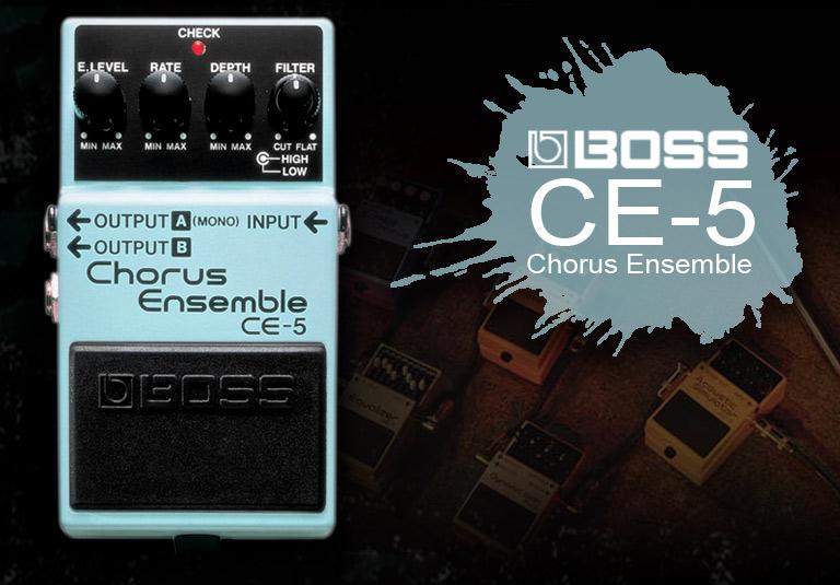 波士(BOSS) CE-5 合唱效果器