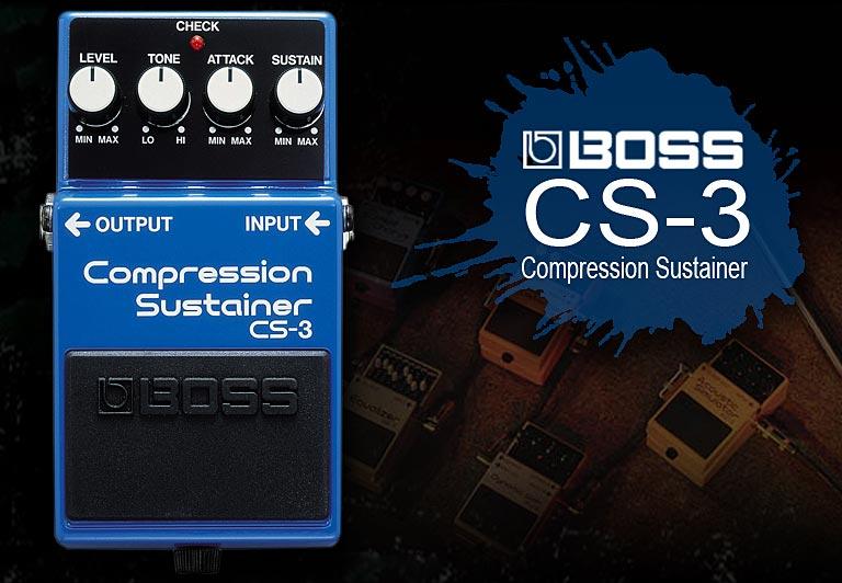 波士(BOSS) CS-3 压缩效果器