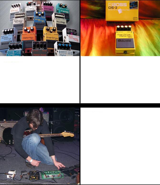 波士(BOSS) OS-2 过载/失真吉他效果器
