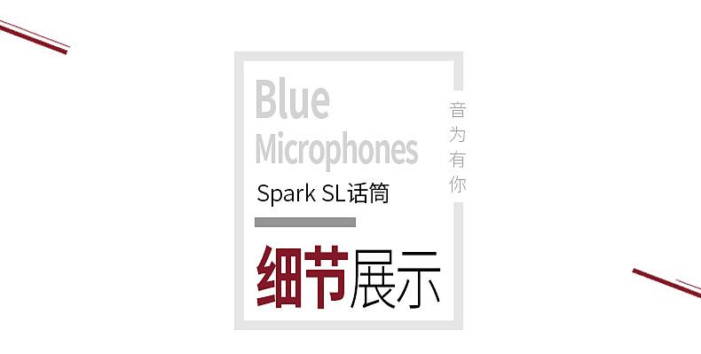 Blue Spark SL火花电容麦