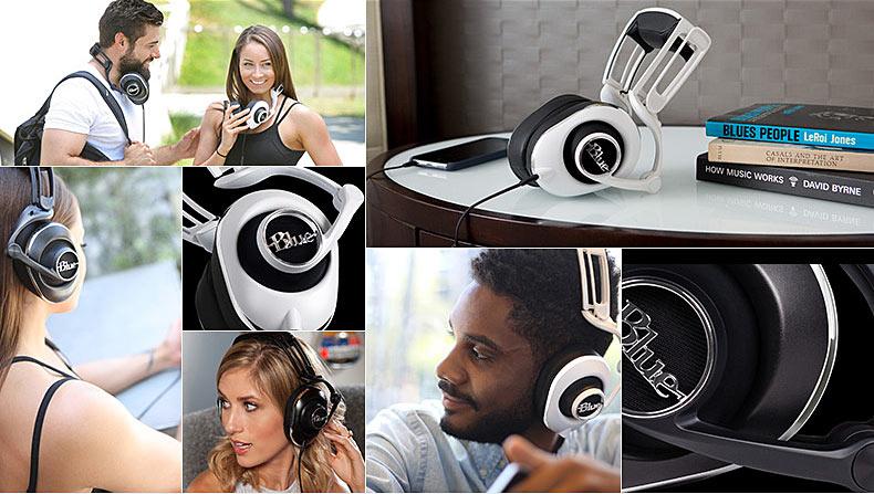 BLUE LOLA 耳机模特展示