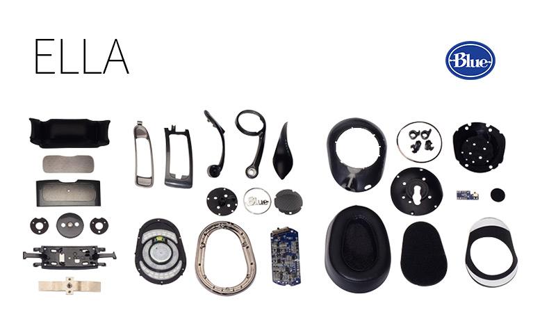 ELLA 耳机拆解图