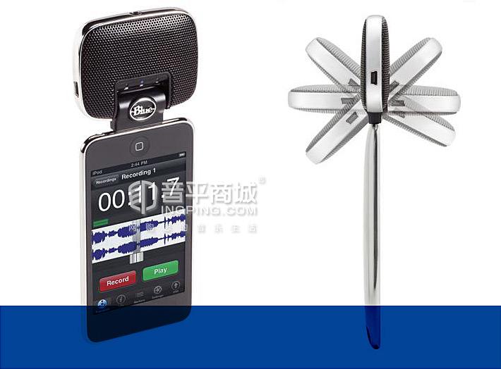 Blue Mikey digital 电容式手机K歌/录音麦克风
