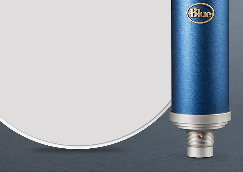 Blue 美国品牌BlueBird SL (蓝鸟) 电容式录音麦克风 网络K歌主播直播话筒