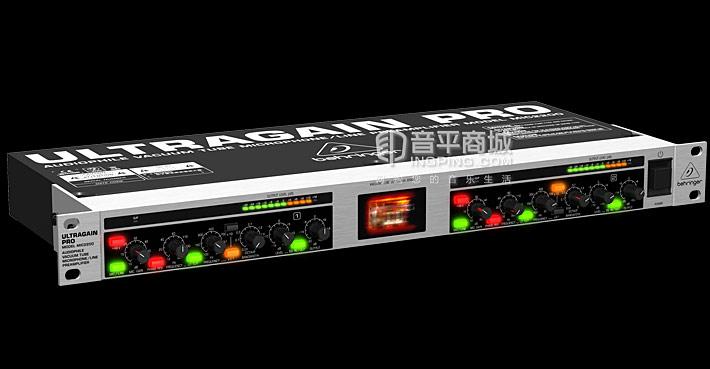 百灵达(BEHRINGER) ULTRAGAIN PRO MIC2200 真空管线路前置放大器 话放