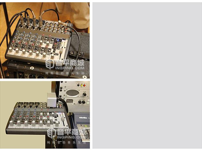 XENYX 1202FX 专业调音台 预设100种混响效果