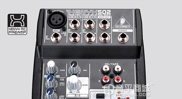 XENYX 502 调音台