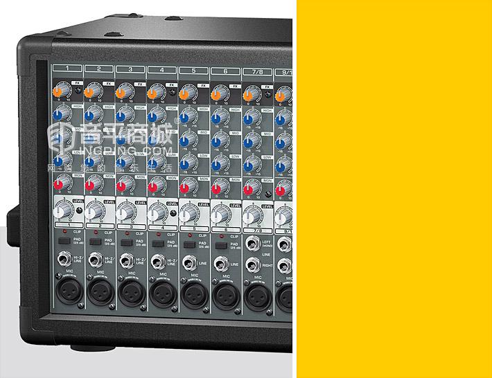EUROPOWER PMP2000 2x350瓦立体声有源带功放调音台
