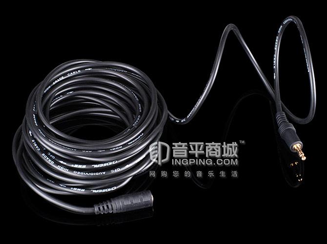 秋叶原(CHOSEAL) Q344音频线 耳机延长线 3.5插头转3.5母座 (1.8米)