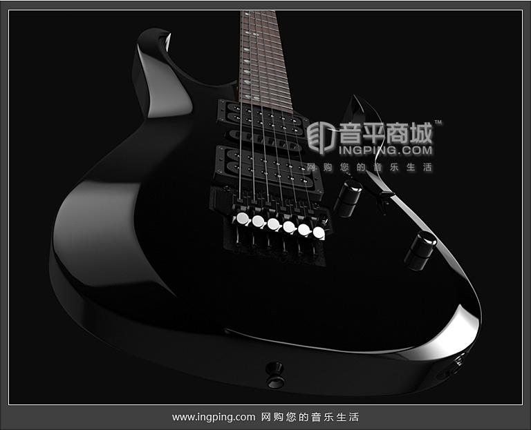 考特(CORT) 电吉他品牌 X-6 枫木指板24品格双摇电吉他