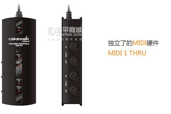 CakeWalk UM-2G USB/MIDI音频接口
