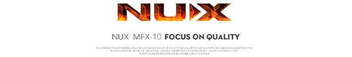 MFX-10 吉他数字合成效果器