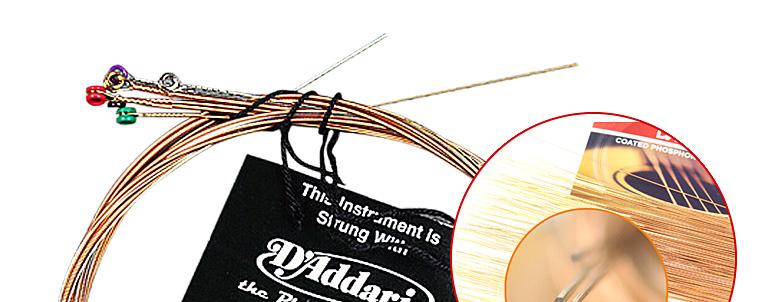 EZ920民谣吉他琴弦 琴弦 吉他弦 原声吉他琴弦 碳素钢弦 青铜缠弦