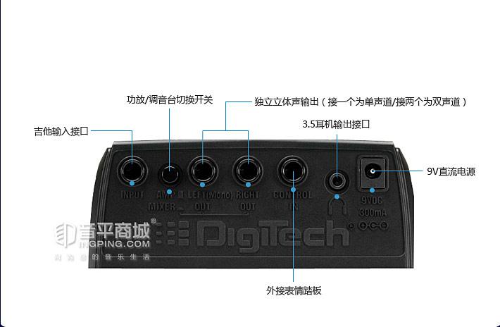 DIGITECH RP70CHV综合效果器