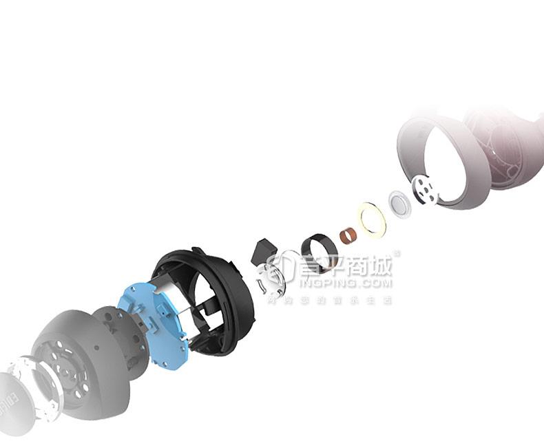 漫步者(Edifier) TWS3 真无线蓝牙迷你运动防水入耳式耳机