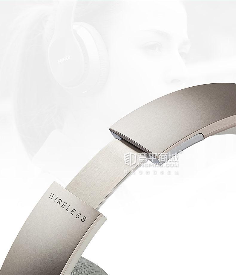 漫步者(Edifier) W820BT 无线蓝牙头戴式折叠耳机 带麦克风