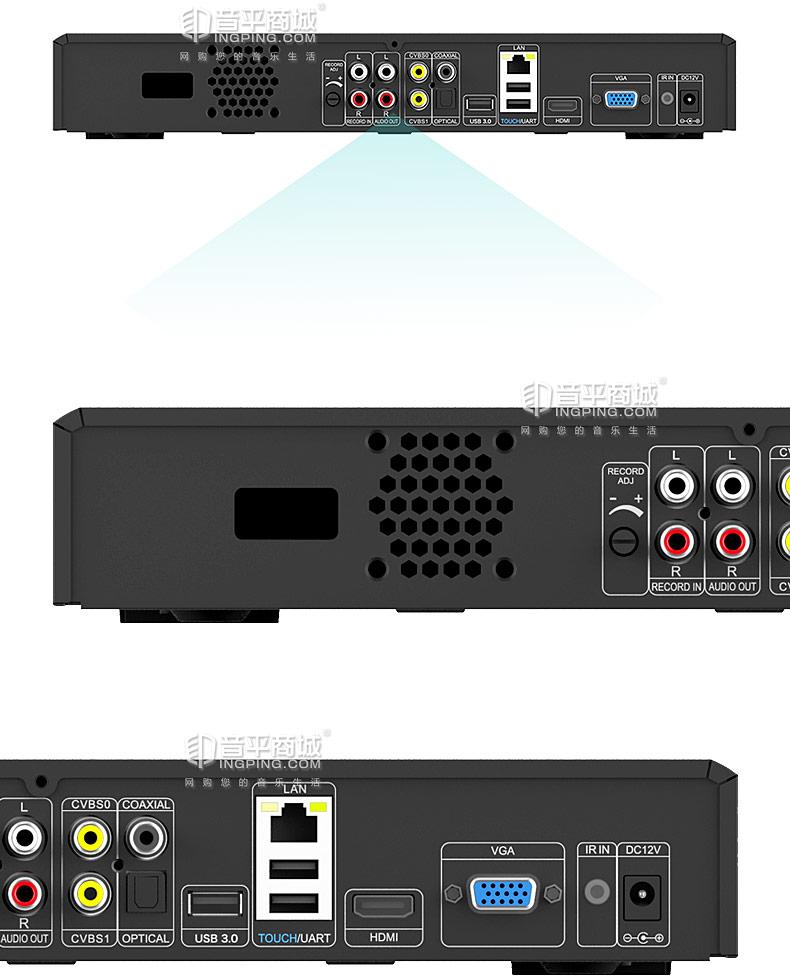 视易(EVIDEO) D66 高清家用KTV点歌机 家庭卡拉OK点歌系统 (4T)