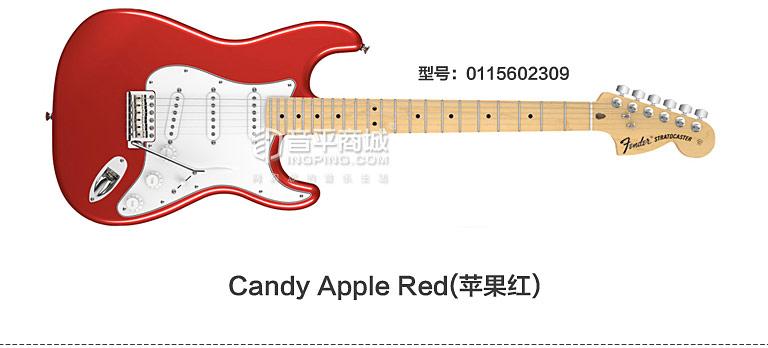 芬达(Fender) 电吉他品牌011-5602-309 美特 STRAT 枫木指板 电吉他