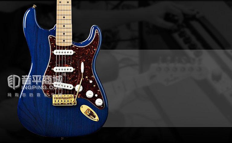 芬达(Fender) 013-3002-327 墨豪 枫木指板电吉他