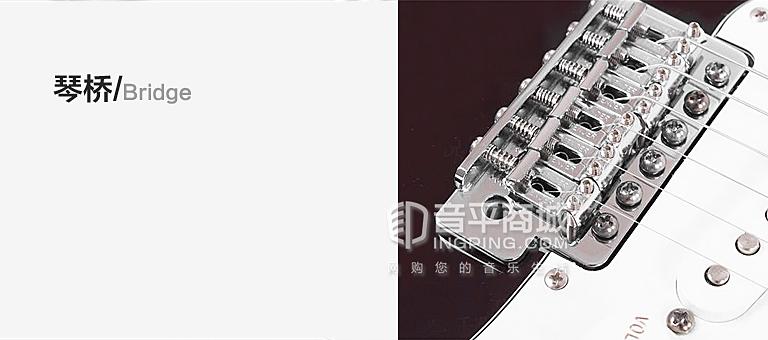 芬达 墨标 枫木指板 电吉他 0144602