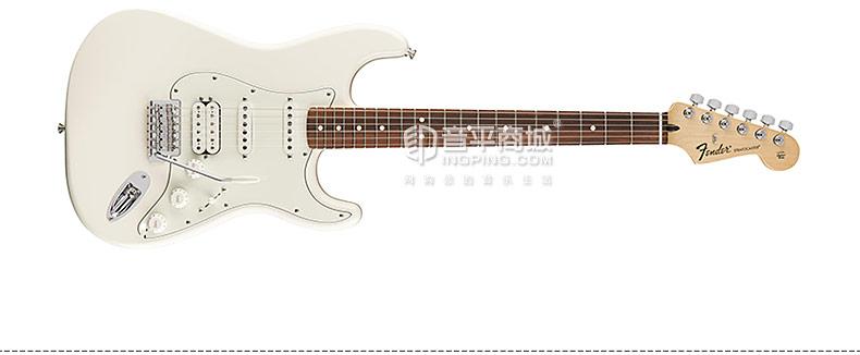 芬达(Fender) 电吉他品牌 014-4703-580 墨标 STRAT 双线圈 黑指板 电吉他