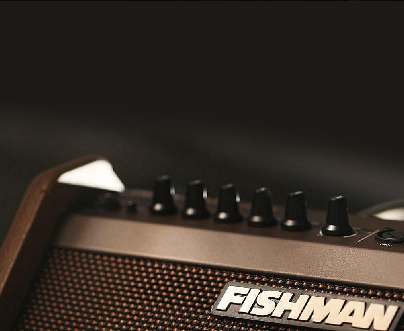 渔夫(Fishman) Loudbox Mini Charge 便携蓝牙电箱吉他弹唱音箱