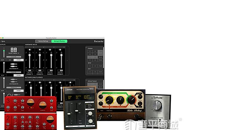 富克斯特(Focusrite) Clarett 8 pre X 雷电接口 录音编专业声卡