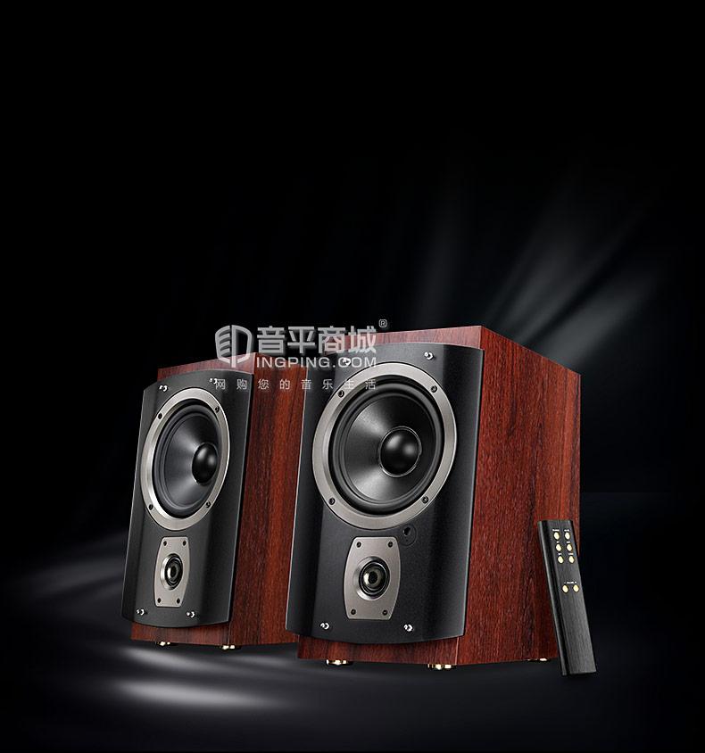 惠威(HiVi) RM6 多媒体音箱家用hifi无线蓝牙客厅台式电脑电视音响