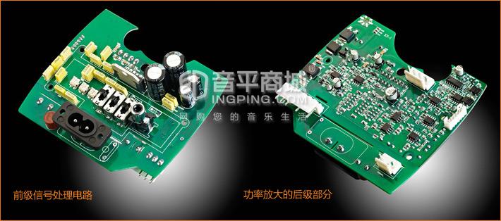 惠威(HiVi) X3 2.8寸2.0有源监听音箱 深灰色 (一对装)