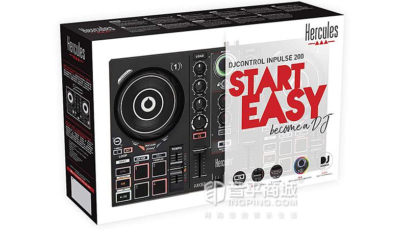 嗨酷乐(Hercules) Inpulse 200 入门级便携式DJ打碟机控制器