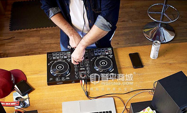 嗨酷乐(Hercules) Inpulse 300 入门级便携式DJ打碟机控制器