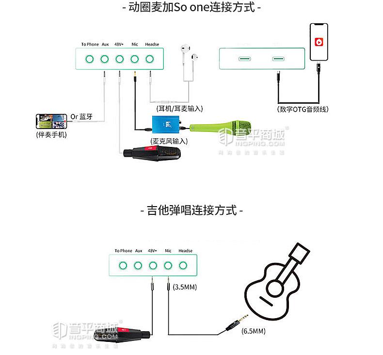 ICKB SO8 第四代升级版无损数字立体声手机直播K歌声卡
