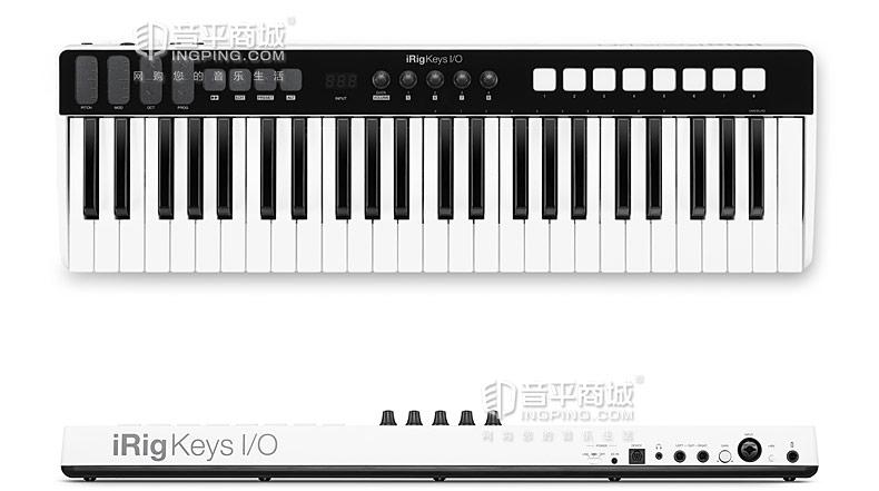IK(IK-Multimedia) IK iRig Keys I/O 49键全尺寸MIDI键盘控制器 编曲键盘 内置声卡