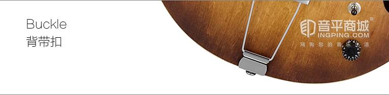 依班娜 Ibanez AF55-TF 双双拾音器 空心吉他 背带扣