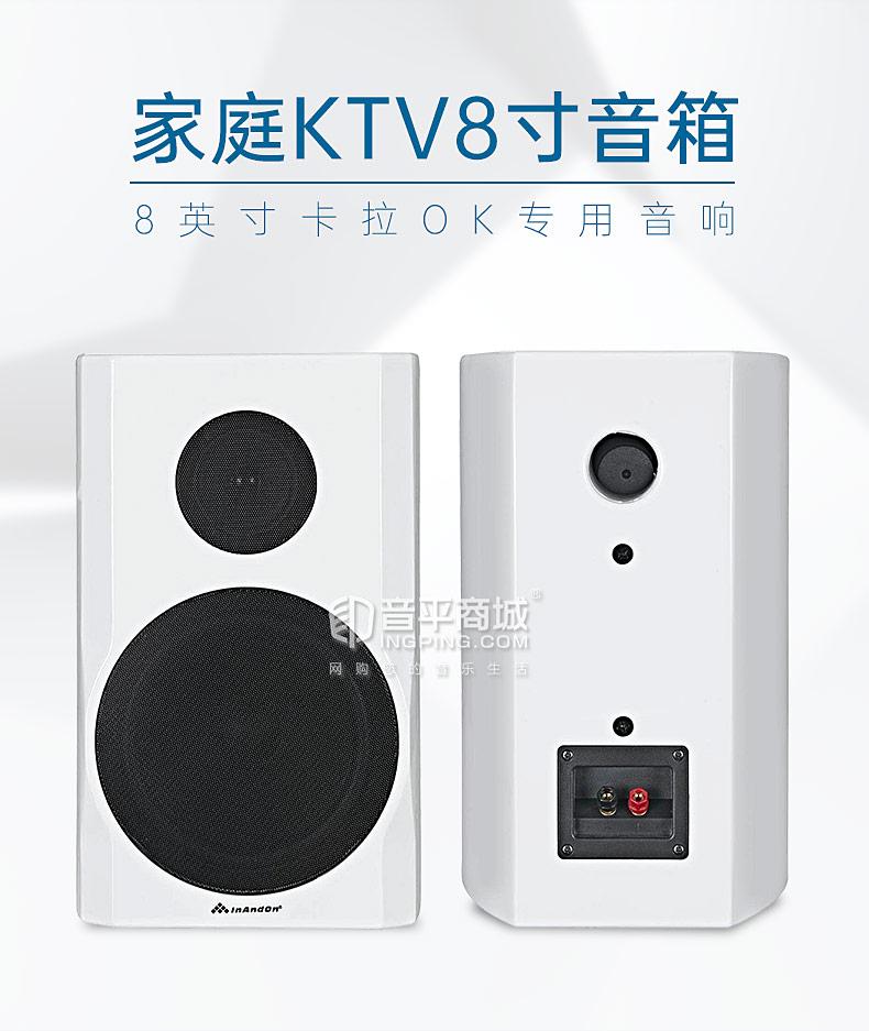 音王(InAndOn) TP-8 家庭KTV卡拉OK8寸音箱