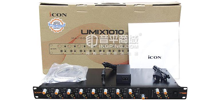 Umix1010 Rack 声卡 包装清单