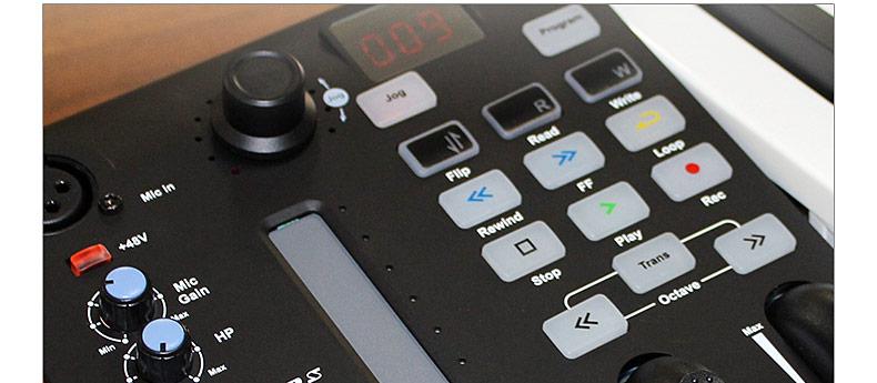艾肯(iCON) iKeyboard 3S VST 自带声卡功能的25键 MIDI 键盘控制器