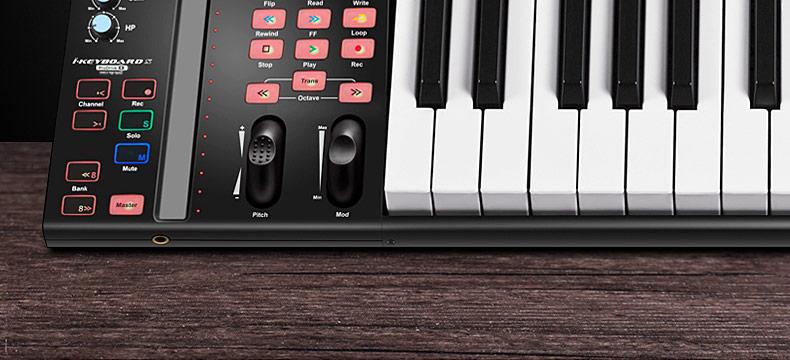 艾肯(iCON) iKeyboard 3S ProDriveIII 自带声卡功能的25键MIDI键盘控制器